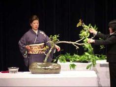 Iemoto Akane Teshigahara. Sydney May 2010. Arrangement #6 - YouTube