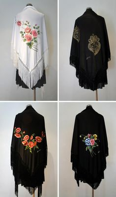 galeria portuguesa: Xailes de Portugal Mexican Outfit, Folk Clothing, Conan, Outfits, Clothes, Beautiful, Dresses, Traditional Clothes, Cowl