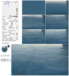 drawingden:  Water Surface Process Tutorial by Hews-HacK