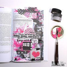 Bible Art Journaling *deutsch *Mk 12 klsaqui bIBEL