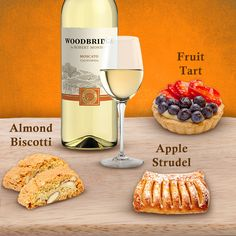 Our Moscato goes perfectly with sweet treats. Which of these desserts would you pair with a glass?