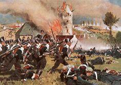 Carl Röchling - Battle of Waterloo 1815 / Roechling