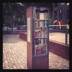 Open library in Cologne. Open Library, Cologne, Bookcase, Shelves, Spaces, World, Pictures, Home Decor, Authors