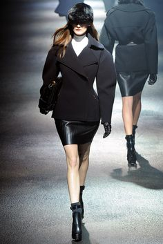 Lanvin Fall 2012 Ready-to-Wear Fashion Show - Marie Piovesan (Viva)