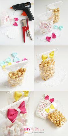 Ghirlanda di Popcorn: party favor inspiration