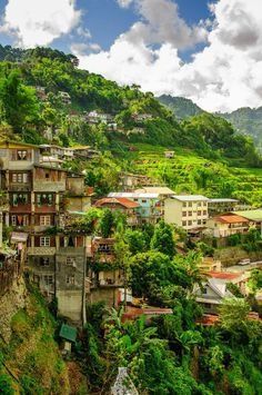 """Banaue Village in North Luzon, Philippines """" What a nice peaceful place. Places Around The World, The Places Youll Go, Places To See, Around The Worlds, Philippines Vacation, Les Philippines, Brunei, Vacation Places, Places To Travel"""