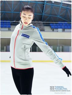 figure skater Yuna Kim Ice Skating, Figure Skating, Kim Yuna, Perfect People, Ice Queen, Skate, Female, Celebrities, Jackets