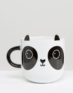 Cute Panda Mug $15.50 Great for drinks - gift ideas for her - animal lovers for Christmas, holidays, birthday gifts