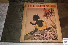 $50.96: A New Story of Little Black Sambo  Bennett 1939 Whitman Publishing Soft Cover