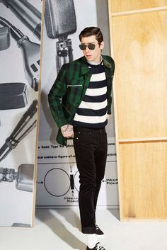 Maison Kitsuné Fall 2014 Menswear Fashion Show