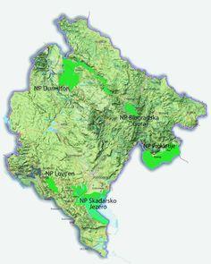 nemzeti parkok Montenegro, 3 D, World, Maps, The World, Earth