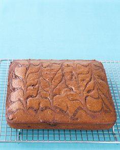 Chocolate-Swirl Gingerbread Recipe