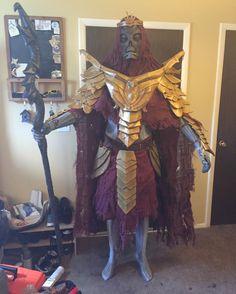 Dragon Priest costume #games #Skyrim #elderscrolls #BE3 #gaming #videogames #Concours #NGC