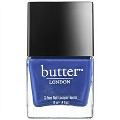 Butter London - Nail Lacquer in Giddy Kipper Simple Nails Design, Nail Design Spring, White Eye Pencil, Butter London Nail Polish, London Nails, Nail Art, Healthy Nails, Nail Treatment, Nail Decorations