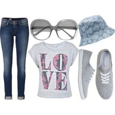 """gray of love"" by dahliafahrian on Polyvore"