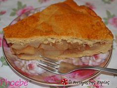 Αχλαδόπιτα νηστίσιμη #sintagespareas Greek Desserts, Greek Recipes, Dairy Free, Gluten Free, Apple Pie, Cooking Recipes, Treats, Breakfast, Sweet