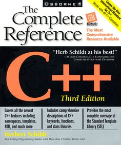 C++ The Complete Reference By Herbert Schildt 3rd Edition