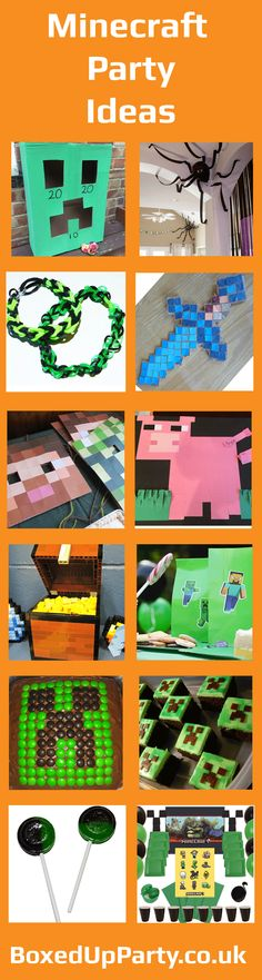 Minecraft Party Ideas and Inspiration