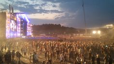 Wie kann ma beim Woodstock-Festival 2014 spielen?