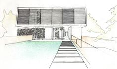 PohioAdams Architects - Orakei House (unbuilt)
