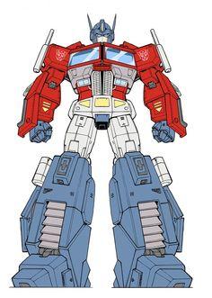 IDW Optimus Prime - Guido Guidi