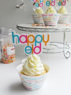 cool eid giveaway and info about nifty product for eid cupcakes!