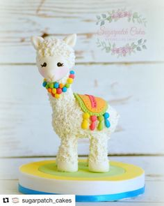 Items similar to Fondant Llama Alpaca Cake Topper for Baby Shower Centerpiece, First Birthday Party Decorations, Zoo Animal Decor, Kids Celebration on Etsy - Lama cake - First Birthday Party Decorations, First Birthday Parties, First Birthdays, Llama Birthday, Baby Birthday, Birthday Cake, Fondant Cake Toppers, Baby Cake Topper, Cactus Cake