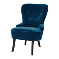 Ikea NIEUW REMSTA Fauteuil, Djuparp groenblauw