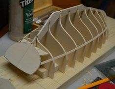 """L.F. Herreshoff Buzzards Bay By Pete48 - Small 3/4"""" = 1' - 0"""" scale - Finished - - Build logs for subjects built 1901 - Present Day - Model Ship World™ White Haven, Buzzards Bay, Commercial Pilot, Wooden Boat Building, Birch Ply, Yacht Design, Woodworking Jigs, Wooden Boats, Model Ships"""