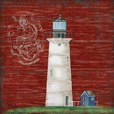 Boothbay Lighthouse III Art Print