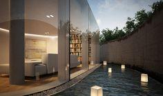 3D Visualisierung Wohnhaus, Cinema 4D, Vray