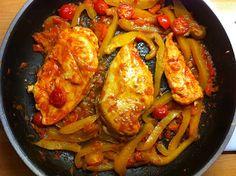 Sizzling Paprika Chicken Recipe