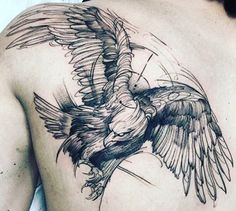 50 amazingly perfect place eagle tattoos designs with sense . - Männer Tattoos- 50 erstaunlich perfekt platzieren Sie Eagle Tattoos Designs mit Sinn 50 amazingly perfect place eagle tattoos designs with meaning Trendy Tattoos, Tattoos For Guys, Cool Tattoos, Tatoos, Tattoo Guys, Real Tattoo, Sketch Style Tattoos, Tattoo Sketches, Tattoo Designs And Meanings