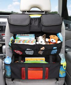 I need one! Only $14.99 Loving this Backseat Organizer on #zulily! #zulilyfinds