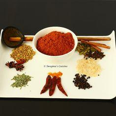Erachi Podi Recipe / Homemade Meat Masala Powder/ Homemade Curry Powder -1 by swapnaz, via Flickr