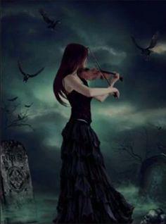 violin - Gothic Photo (31523282) - Fanpop