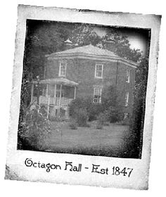 Octagon Hall-Franklin, KY. The teacher at our ghost hunting class experienced some great stuff here!
