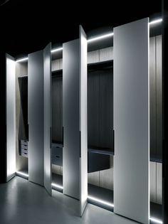 Solferino wardrobe system by Piero Lissoni for Boffi _