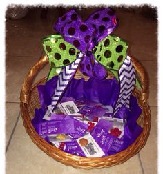 Sample basket for parties!