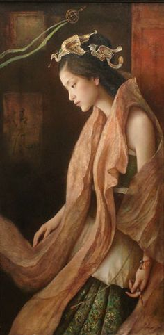 Artist: Tang Wei Min, Title: Night Wind