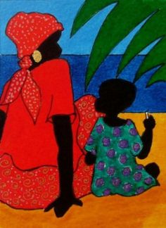 Gullah_Art_Tessa_Edwards_2-466x640 16 Pieces of Gullah Art to Add Your Gallery Wall