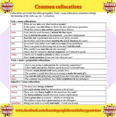 Forum | ________ Learn English | Fluent LandCommon Collocations: Take, Miss… | Fluent Land