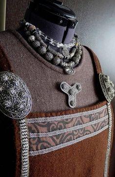 Viking apron dress.