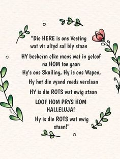 Afrikaans Quotes, My King, Religion, Words, Journalling, Red, Religious Education, Faith