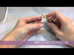Double Crochet Tutorial DC Into the Last Stitch of the Row Last Stitch, Crochet For Beginners, Double Crochet, Free Pattern, The Creator, Knitting, Stitches, Youtube, Crafts