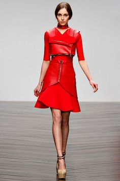 It's so refreshing, wanting to see a collection over, and over, and over.    David Koma fall 2013