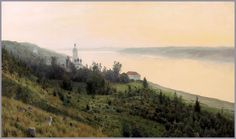 Isaak Levitan what he does with light is amazing.