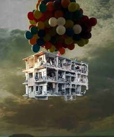 Syrian artist Tammam Azzam delves into memory and conflict while reflecting on the civil war-torn country. Protest Kunst, Protest Art, Grayson Perry, Syrian Civil War, Wordpress, Political Art, Political Events, Galleries In London, War Photography