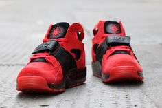 "Nike Air Trainer Huarache PRM ""Challenge Red"" - EU Kicks: Sneaker Magazine"