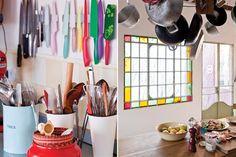 Conocé la cocina de Juliana López May | ESPACIO LIVING Wardrobe Rack, New Homes, House, Furniture, Home Decor, Chorizo, Kitchens, Ideas, Bar